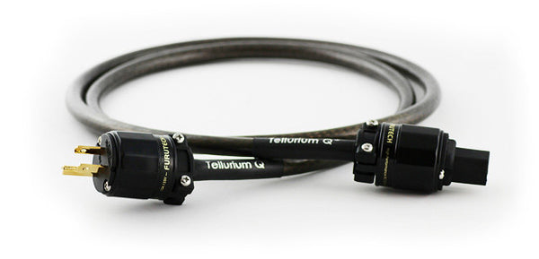 Image of TELLURIUM Q MAINS CABLES: BLACK POWER