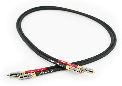 Image of TELLURIUM Q BLACK RCA INTERCONNECTS