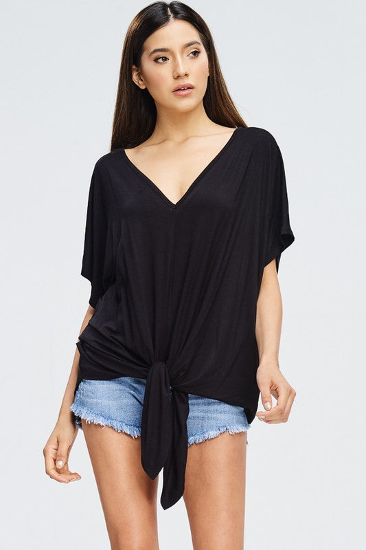 Lush Front Top (Black)