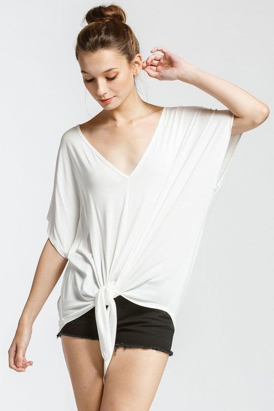 Lush Front Top (Ivory)