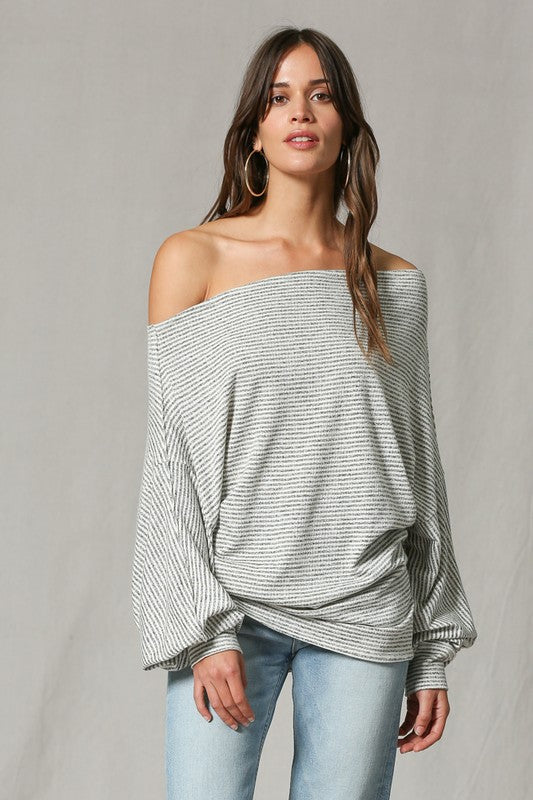 On A Whim Off Shoulder Top