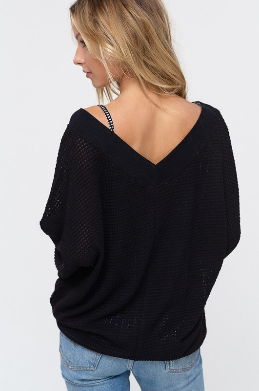 The Betty Sweater (black)