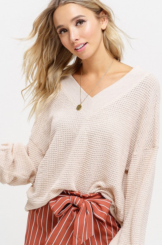 The Betty Sweater (Natural)