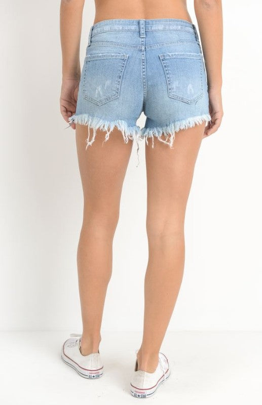Hot Summer Nights Cut-off Shorts