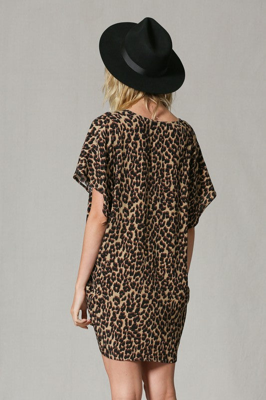 Knock Your Spots Off Tunic dress