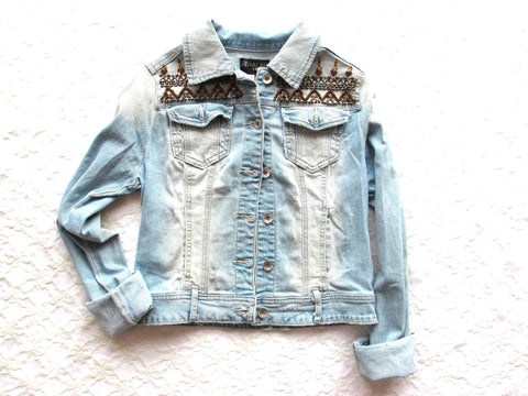 Denim Jacket Movement Holi - size S