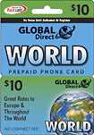 $10 Prepaid Long Distance Calling Card