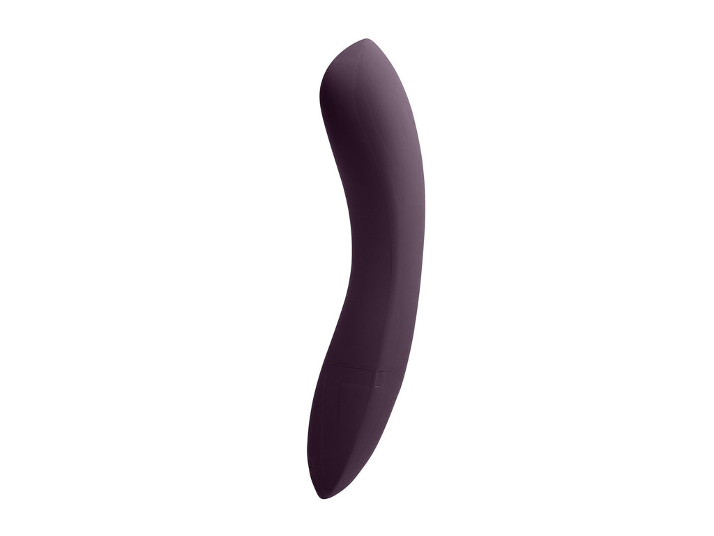 Laid D1 dildo in supersoft black silicone.
