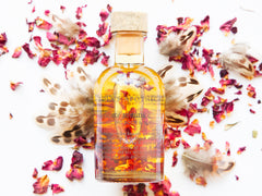 Lolas Apothecary Rose and Spices Balancing Body and Massage Oil