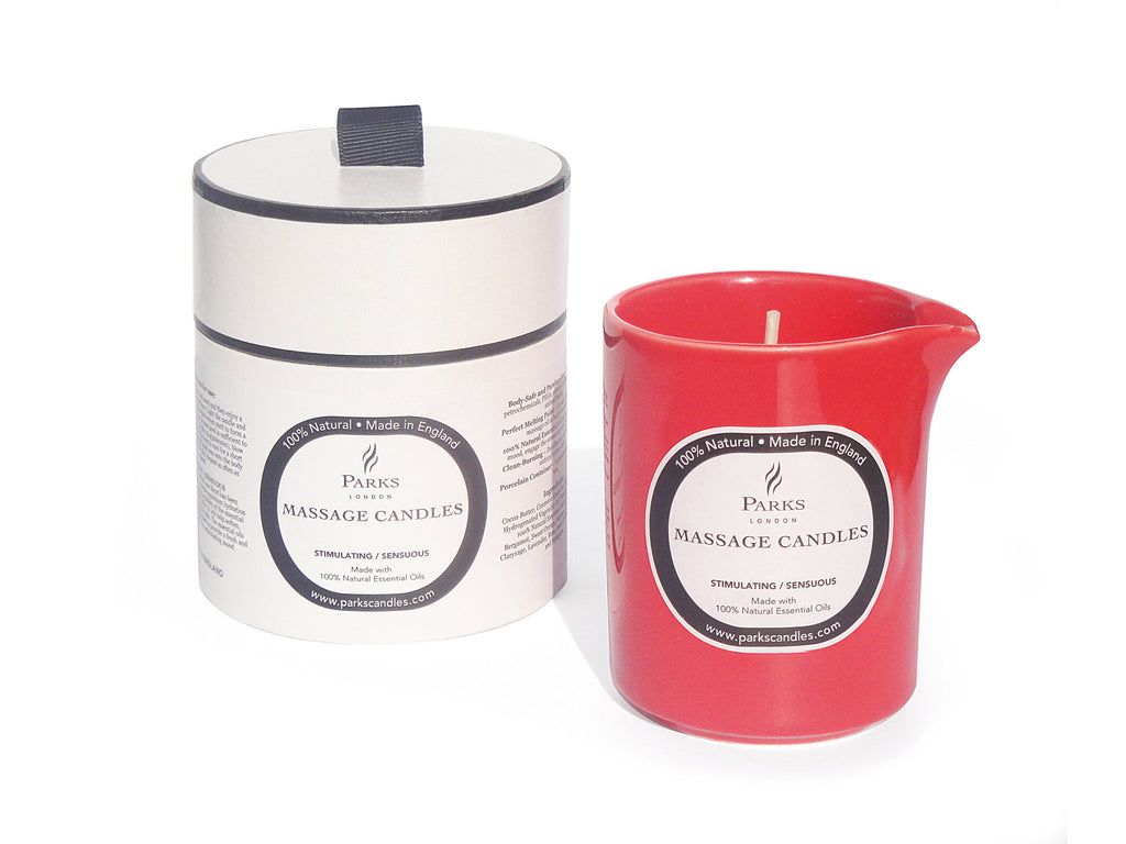 Parks massage candle stimulating and sensuous