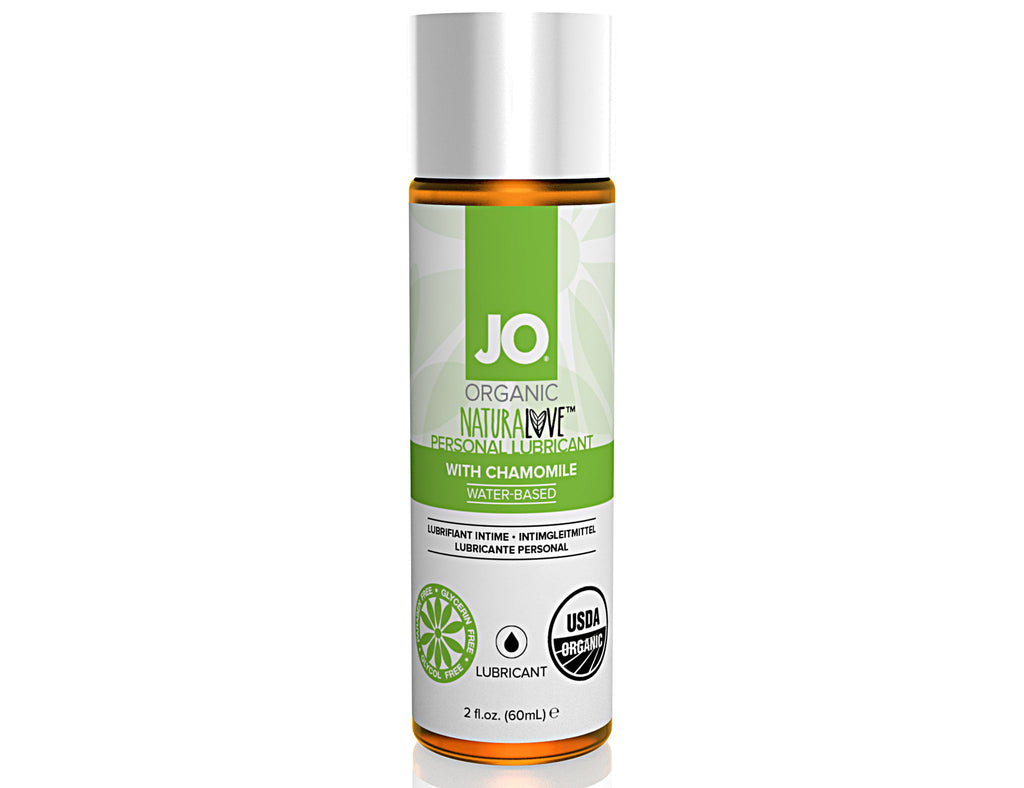 System Jo Organic Natural Love Water-Based Lube 60ml