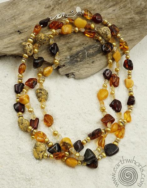 "Amber ""Tears of the Tree"" Ancient Natural Element for Handmade Jewelry"