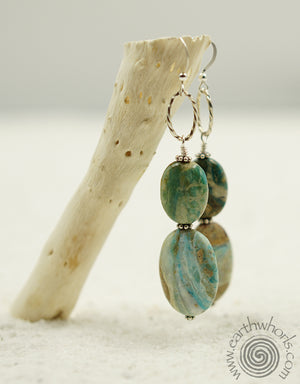 Turquoise & Sterling Silver Earrings