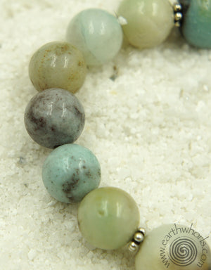 Natural Stone & Silver Necklace - EarthWhorls, LLC