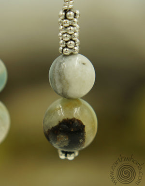 Gemstone Earrings - EarthWhorls, LLC