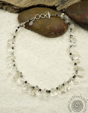 Quartz & Crystal Necklace
