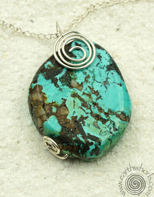 Turquoise Pendant Necklace