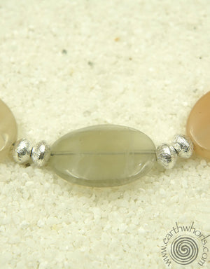 Moonstone & Sterling Necklace