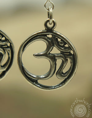 Sterling Silver Earrings - EarthWhorls, LLC