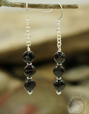 Agate & Sterling Silver - EarthWhorls, LLC