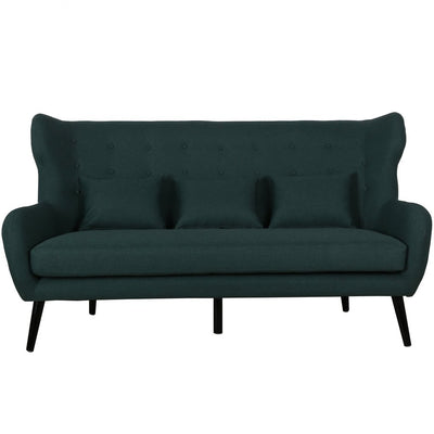 Harry 3 personers sofa - Mørkegrøn