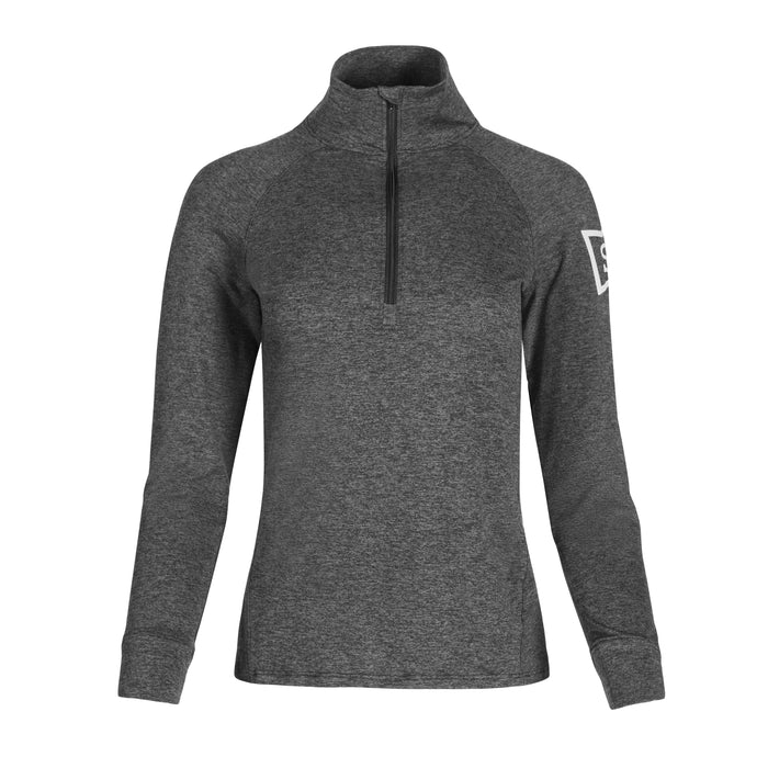 Ace Performance Heat Half-Zip Charcoal