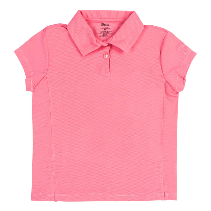 Confident ICE Polo - Powerful Pink