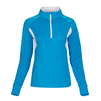 Ace Performance Heat Half-Zip Bunker Blue