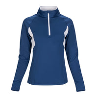 Ace Performance Heat Half-Zip Navy Blue