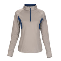 Ace Performance Heat Half-Zip Nature Grey