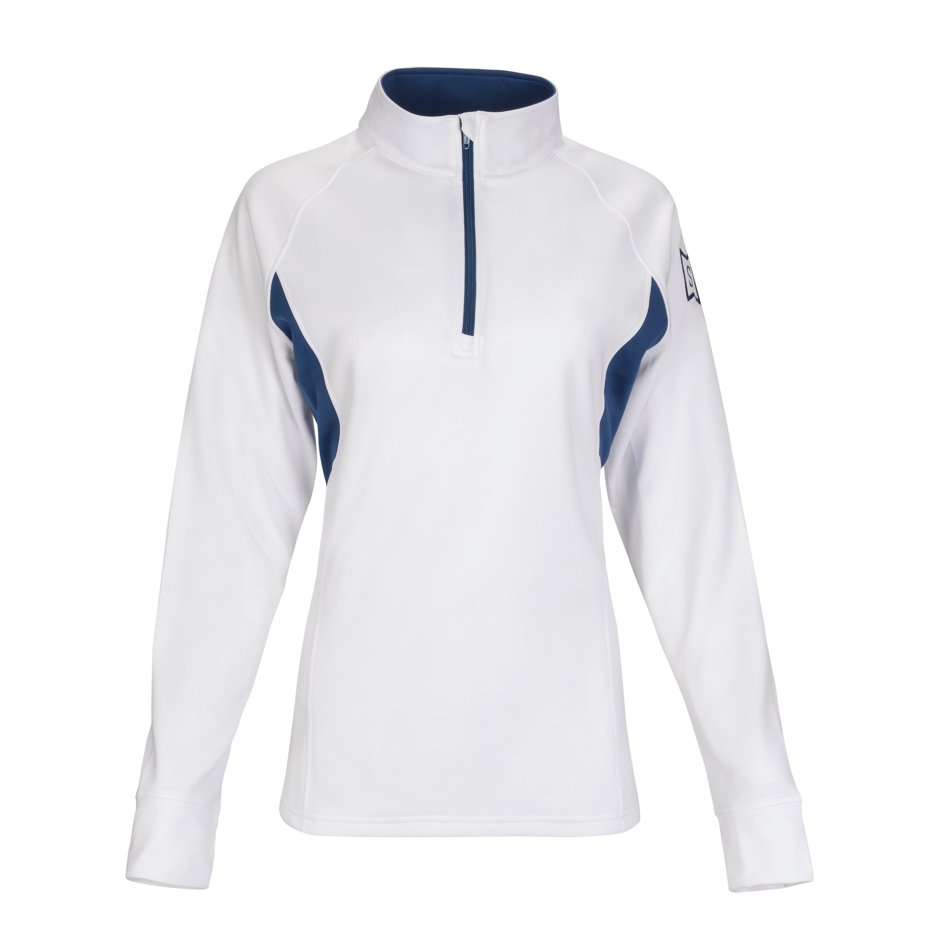 Ace Performance Heat Half-Zip White