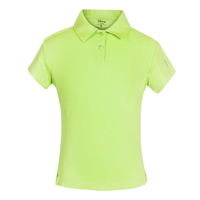 Confident ICE Polo - Dragonfly Green