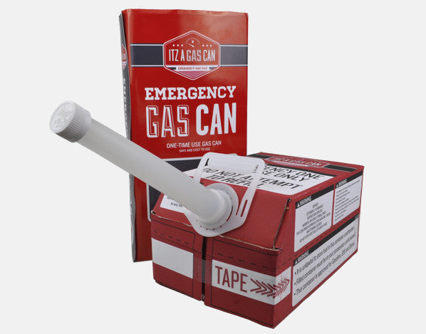 ItzaGasCan - Emergency, One-Time Use Gas Can!