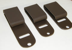 Brown Little Foxx belt clips