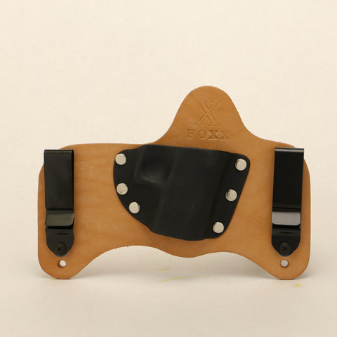 Micro Leather Hybrid holster Shown