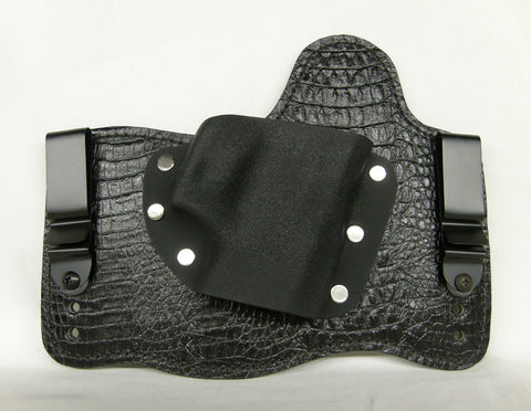 Gator & Python Embossed Leather Hybrid Holster SALE
