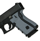 Gun Grips for Glock 42 in Grey