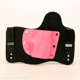 Hot Pink Kydex Color on Black Hybrid Holster