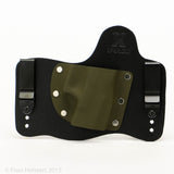 OD Green Kydex Color on Black Hybird Holster