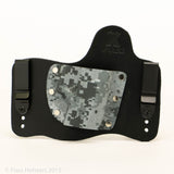 Urban Digital Camo Kydex Pattern on Black Hybird Holster