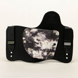 Arctic Storm Kydex Pattern on Black Hybird Holster