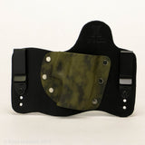 Sage Storm Kydex Pattern on Black Hybird Holster