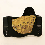 We the People Kydex Pattern on Black Hybird Holster