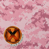 Pink Digital Camo Kydex Pattern