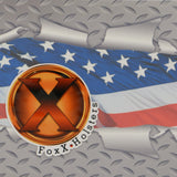 Diamondplate Flag Kydex Pattern