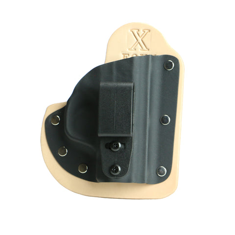 Little Foxx IWB Hybrid Holster (Natural Leather)