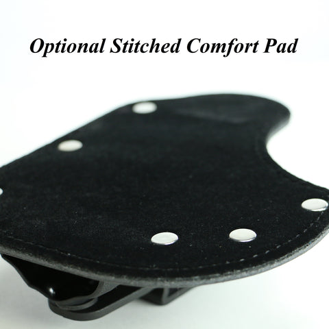 Detail of Optional Stitched Comfort Pad for Little Foxx IWB holster