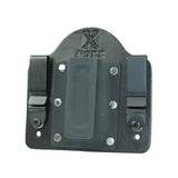 Single Magazine Carrier Holster IWB (Black Leather)
