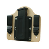 Single Magazine Carrier Holster IWB (HORSEHIDE)