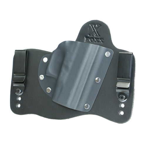 Foxx IWB Hybrid Holster (Black Leather)